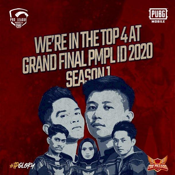 The Pillars Slayer Tim Esport dari Ariel Noah Peringkat 4 PMPL 2020