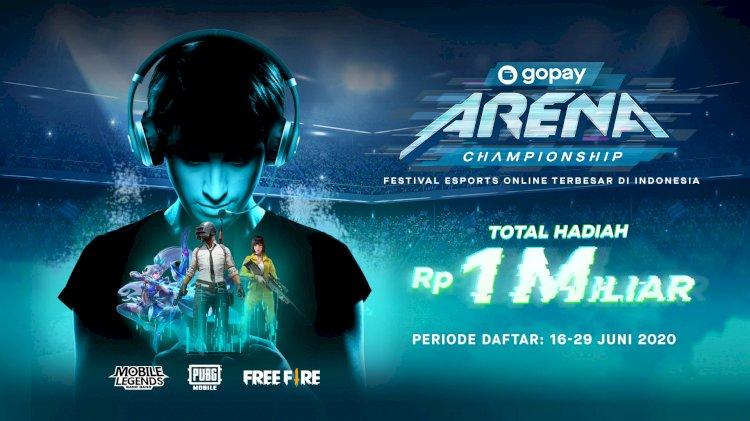 Gopay Arena Championship Mobile Legend Pubg Mobile Dan Free Fire Lifepod Media Platform