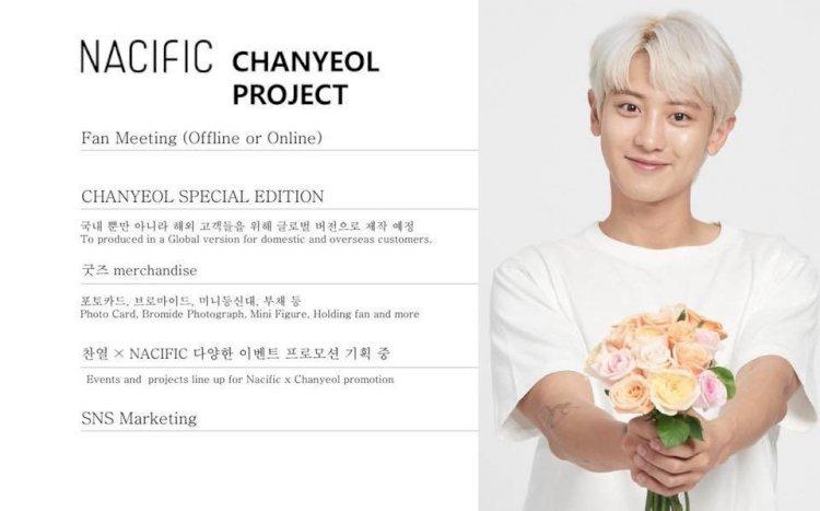 Chaenyol EXO jadi Model Produk Nacific