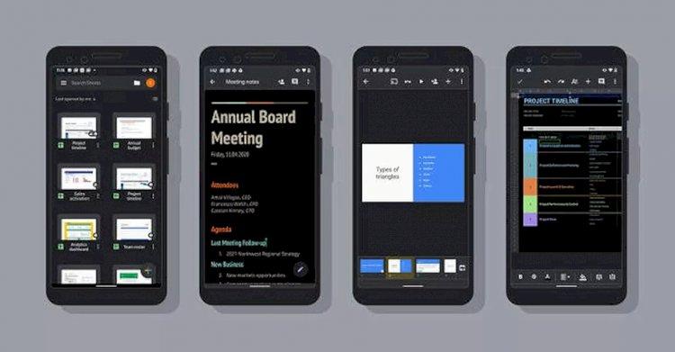 Cara Pakai Mode Gelap di Aplikasi Google Android