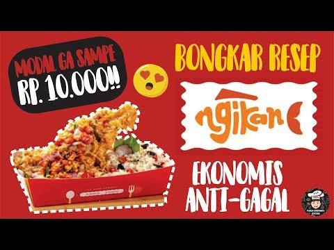 Rp. 10.000 bikin Resep NGIKAN ala Puguh Kristanto, Gampang Banget!!