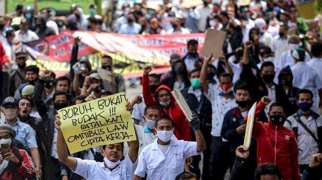 Demo Buruh Dibiayai, Pengamat: Jangan Mencari Kambing Hitam!