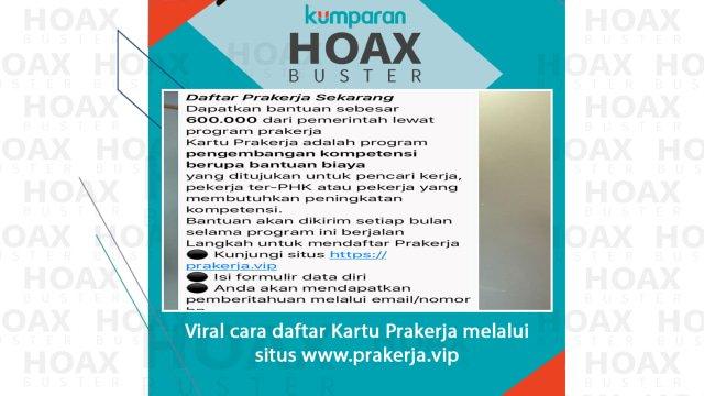 Penipuan Situs Prakerja VIP, Menaker Imbau Korban Lapor Polisi