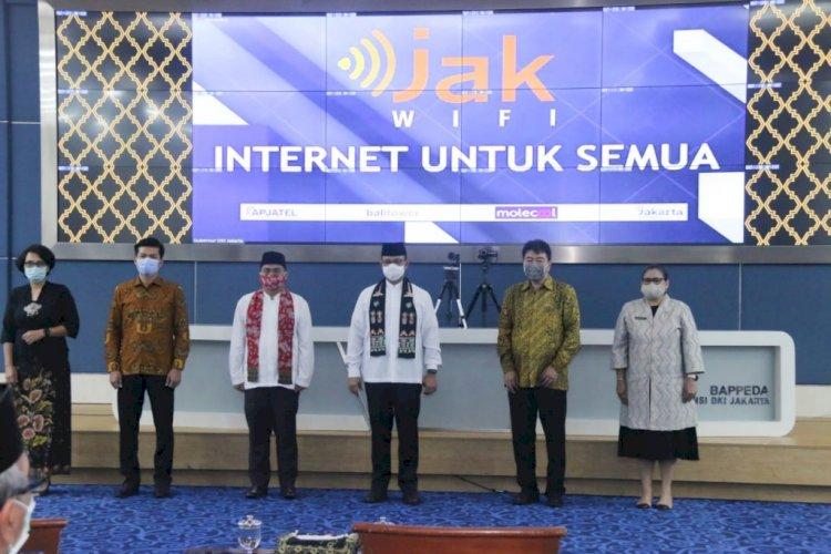 5 Hal Terkait Peluncuran JakWiFi (Internet Gratis) dari Pemprov Jakarta
