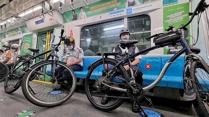 Sepeda Non Lipat Boleh Masuk ke Kereta, Berikut Aturan yang Harus Dipatuhi
