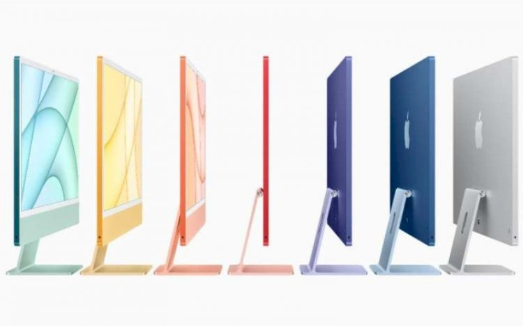 Pilihan warna menarik dari iMac 2021