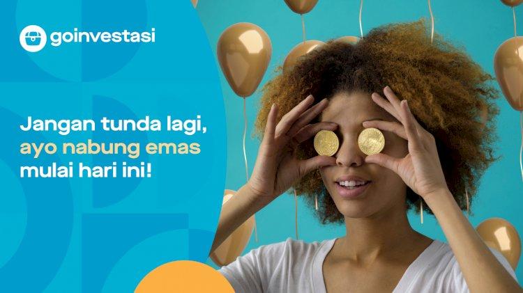 Gojek Hadirkan Fitur Baru Permudah Investasi Emas